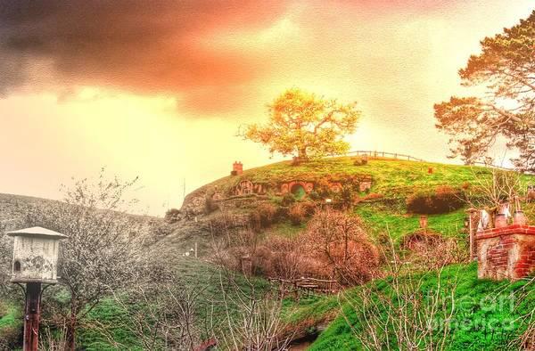 Photograph - Sunrise Of Hobbiton by Helge