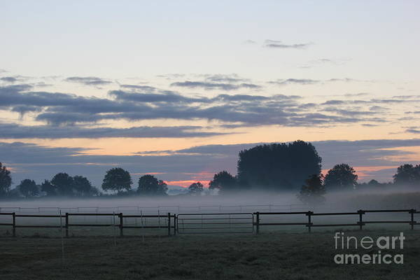 Wall Art - Photograph - Sunrise On A Very Cold Morning IIi by Four Hands Art
