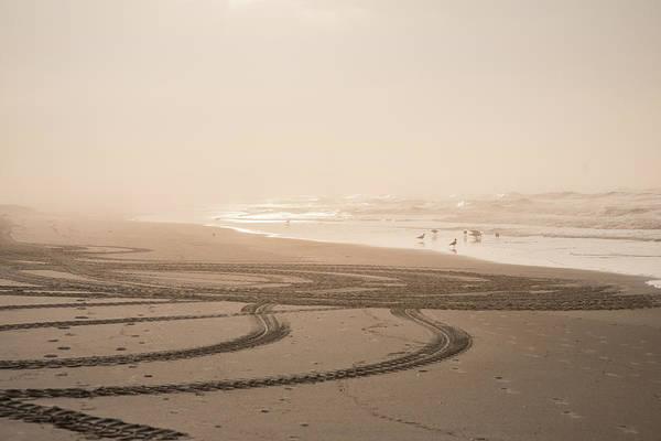 Surf City Usa Photograph - Sunrise On Beach by Abitofsas Photography Www.abitofsas.com