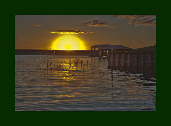 Wall Art - Photograph - Sunrise On Carrice Creek by Bill Perry