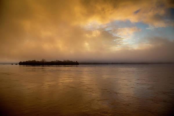 Laos Photograph - Sunrise On Don Khong Island by Jonathan Look, Jr.