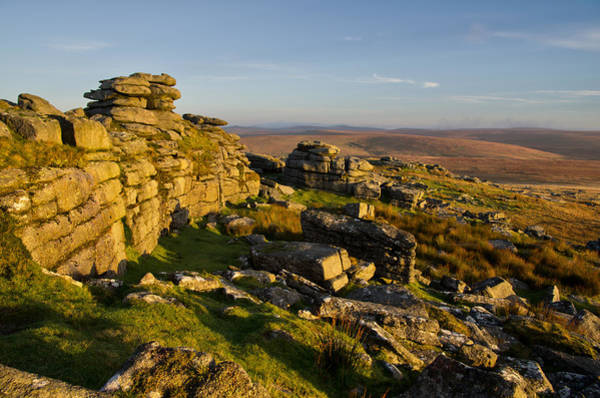 Photograph - Sunrise On Great Mis Tor by Pete Hemington