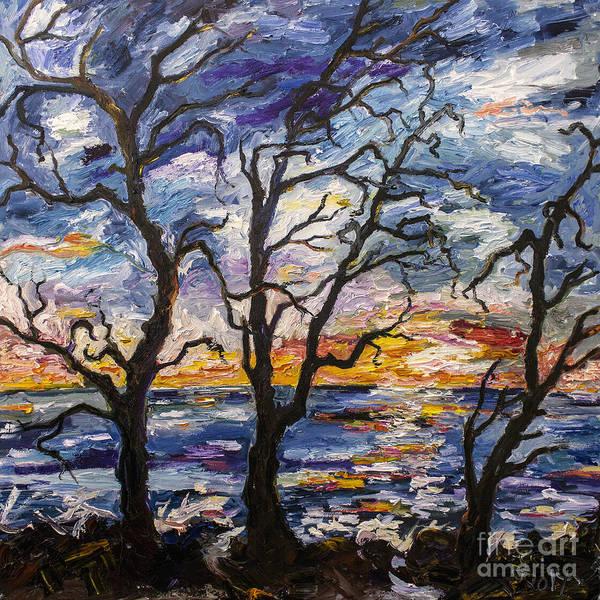 Painting - Sunrise On Jekyll Island Georgia by Ginette Callaway