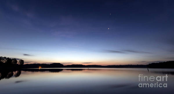 Photograph - Sunrise On Lake Lanier by Bernd Laeschke