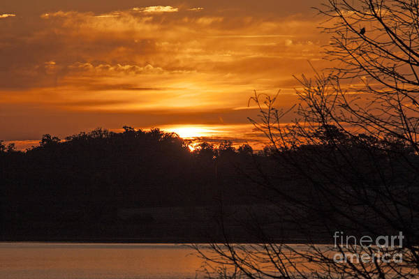 Photograph - Sunrise On Lake Weir - 6 by Tom Doud