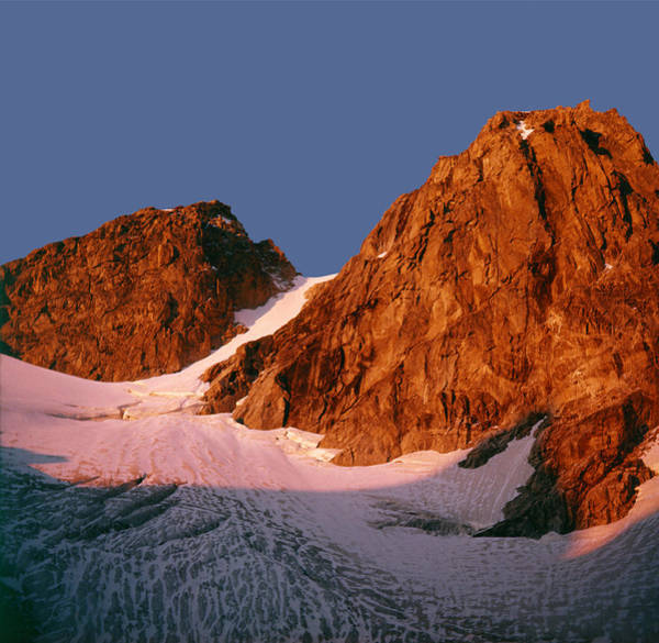 Photograph - T-109207-sunrise On Middle Teton by Ed  Cooper Photography