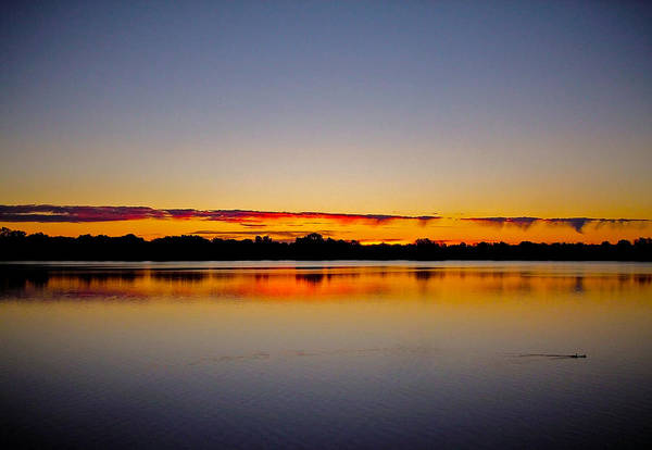 Photograph - Sunrise On Riviere Des Mille-iles by Juergen Weiss