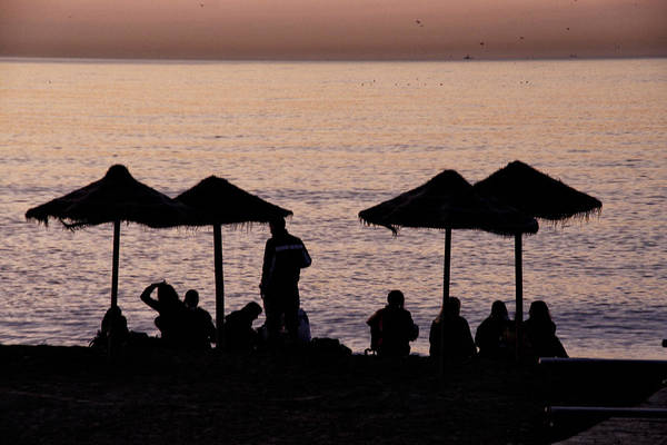 Photograph - Sunrise On The Beach After A Night Out by Goyo Ambrosio