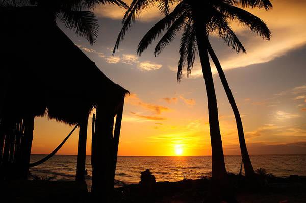 Aurore Photograph - Sunrise On The Beach by Ok More Photos