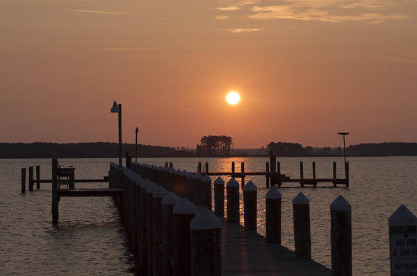 Wall Art - Photograph - Sunrise On The Chesapeake Bay - Piney Point by Bill Cannon