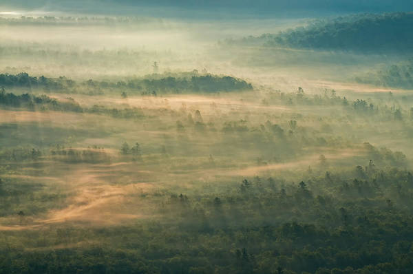 Photograph - Sunrise On The Parkway - Blue Ridge Parkway - Asheville - North Carolina by Photography  By Sai