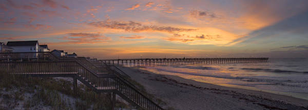 Wall Art - Photograph - Sunrise On Topsail Island Panoramic by Mike McGlothlen