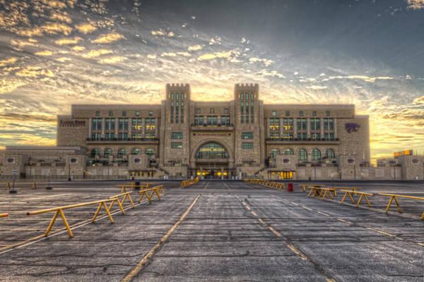 Kansas State University Photograph - Sunrise On Wildcat Nation by Corey Cassaw
