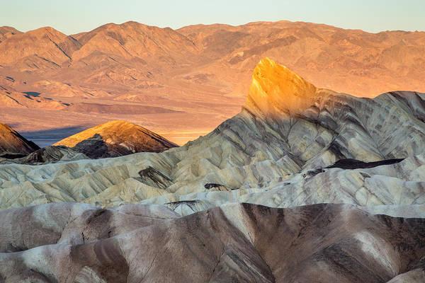 Photograph - Sunrise On Zabriskie Point California by Pierre Leclerc Photography