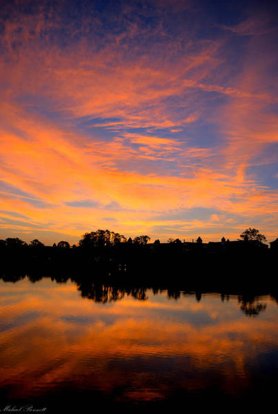 Photograph - Sunrise Orlando 12-22-13 by Michael  Bennett