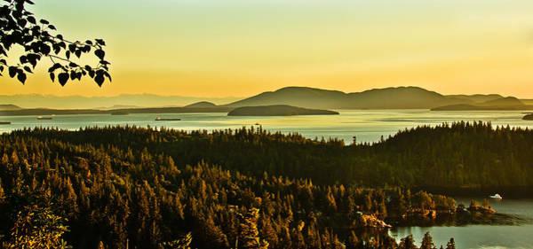 Wall Art - Photograph - Sunrise Over Bellingham Bay by Robert Bales