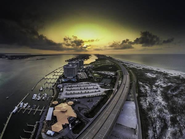 Digital Art - Sunrise Over Colbalt by Michael Thomas