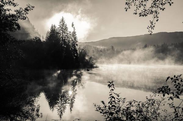 Photograph - Sunrise Over Fairy Lake by Roxy Hurtubise