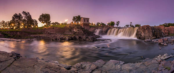 Photograph - Sunrise Over Falls Park by Angela Moyer