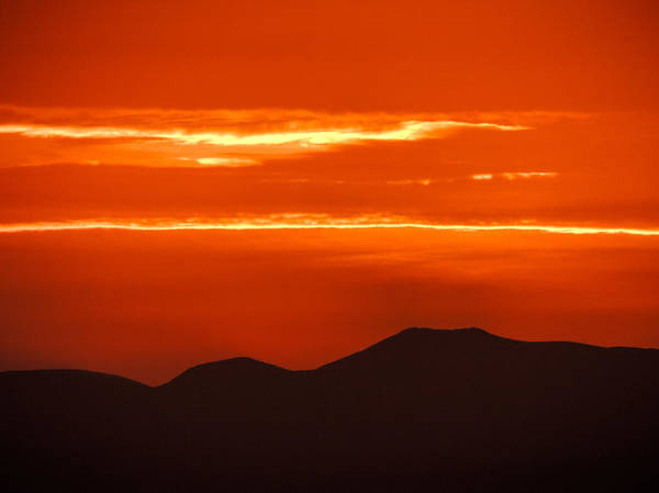 Photograph - Sunrise Over Ireland's Galtee Mountains by James Truett