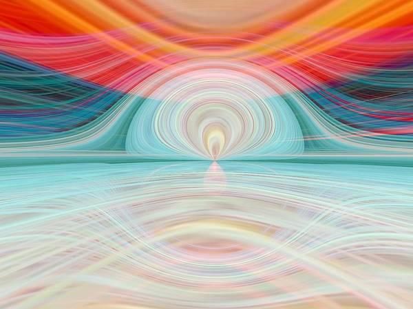 Crisscross Wall Art - Digital Art - Sunrise Over Jupiter by Tom Druin