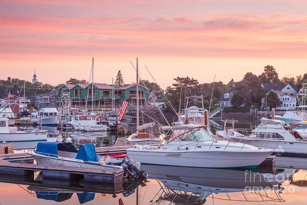 Photograph - Sunrise Over Kennebunkport by Susan Cole Kelly