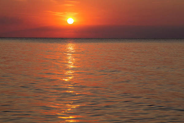 National Lakeshore Wall Art - Photograph - Sunrise Over Lake Superior From Devils by Chuck Haney