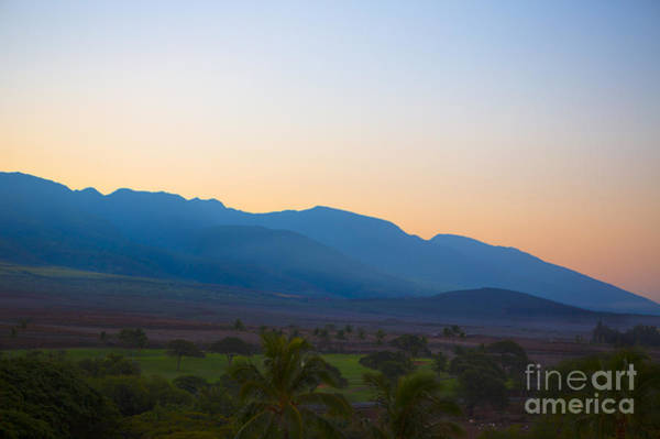 Wall Art - Photograph - Sunrise Over Maui Hawaii by Diane Diederich