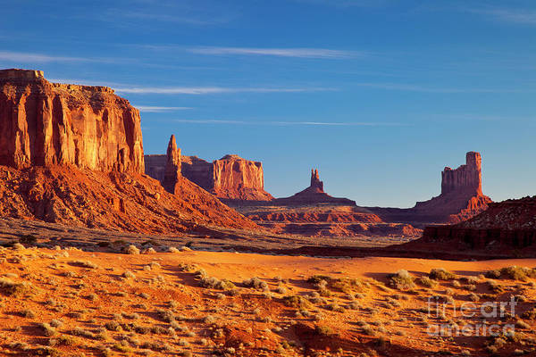 Art Print featuring the photograph Sunrise Over Monument Valley by Brian Jannsen