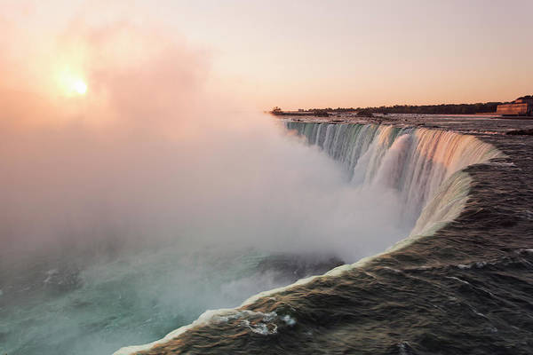 Canada Photograph - Sunrise Over Niagara Falls by Cosmo Condina