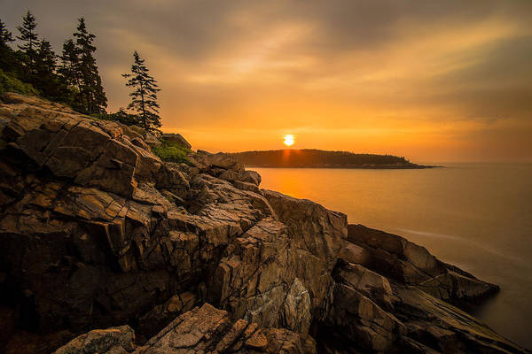 Photograph - Sunrise Over Otter Cove by Robert Clifford