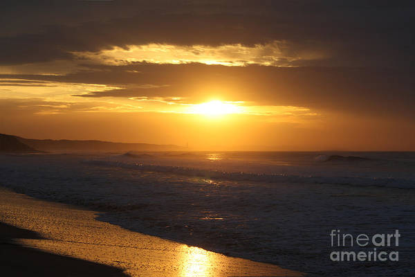 Ocean Grove Photograph - Sunrise Over Point Lonsdale by Linda Lees