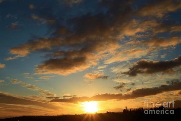 Photograph - Sunrise Over Port Angeles by Adam Jewell