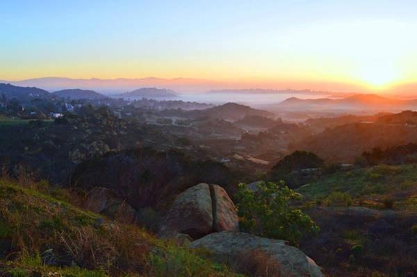 Box Canyon Wall Art - Photograph - Sunrise Over San Fernando Valley by Glenn McCarthy