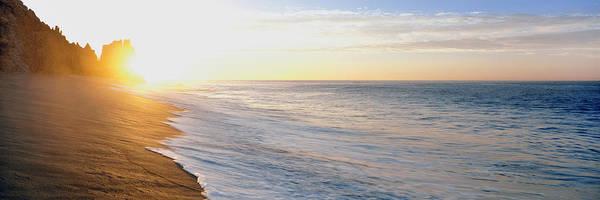 Baja California Peninsula Wall Art - Photograph - Sunrise Over The Beach, Lands End, Baja by Panoramic Images