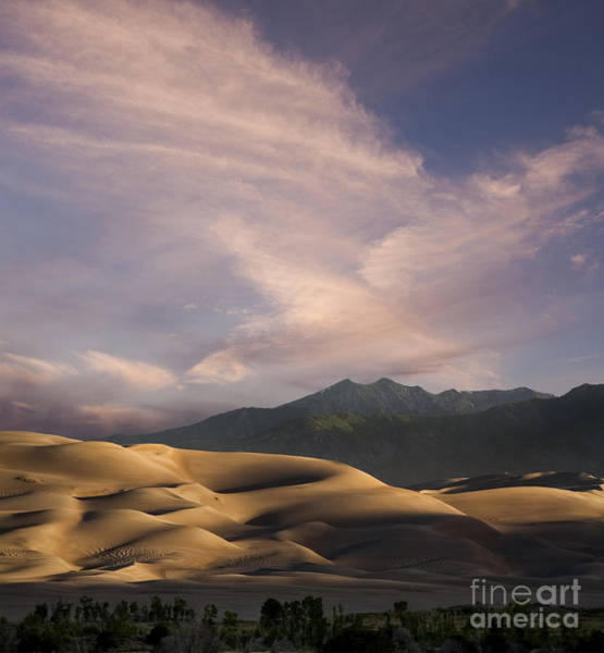 Middle Of Nowhere Photograph - Sunrise Over The Great Sand Dunes by Keith Kapple