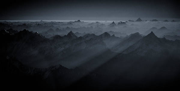 Wall Art - Photograph - Sunrise Over The Karakoram by Martin Van Hoecke