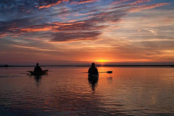 Wall Art - Photograph - Sunrise Paddle by Scott Hansen