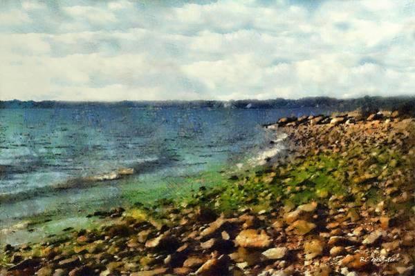 Painting - Sunrise Sea by RC DeWinter