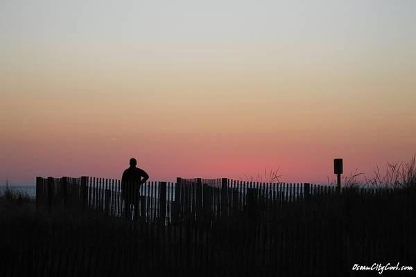 Photograph - Sunrise Silhouette by Robert Banach