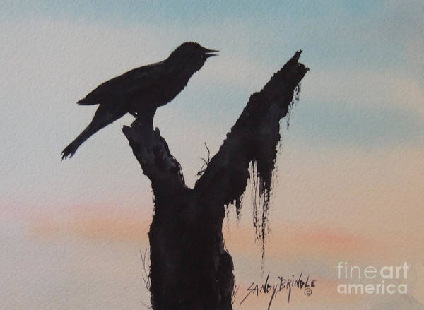 Painting - Sunrise Singer by Sandy Brindle