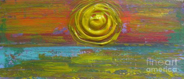 Painting - Sunrise Sunset 1 by Jacqueline Athmann