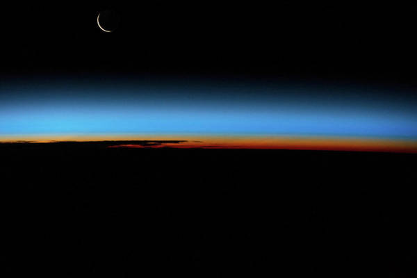 Iss Photograph - Sunrise Sunset Over South Atlantic by Panoramic Images