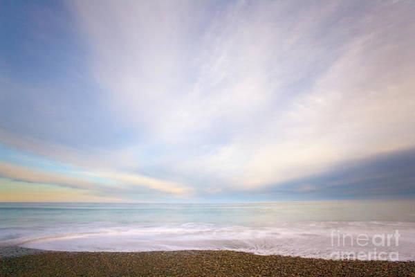 Photograph - Sunrise Surf South Island by Yva Momatiuk John Eastcott