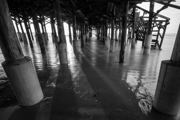 Sunrise Under Pier Art Print