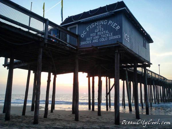 Photograph - Sunrise Under The Oc Fishing Pier by Robert Banach