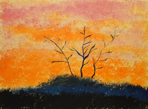 Wall Art - Painting - Sunrise by Valerie Howell