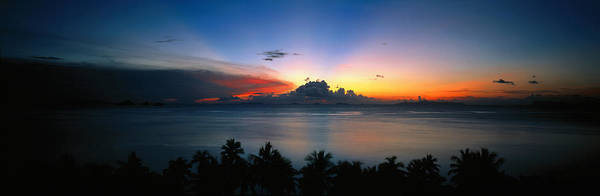 Koh Samui Photograph - Sunset & Cloud Thailand by Panoramic Images
