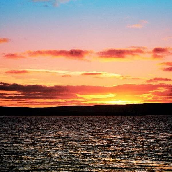 Wall Art - Photograph - Sunset - Orkney Islands by Luisa Azzolini
