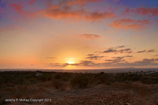 Photograph - Sunset @ Rim Trail by Jeremy McKay